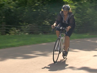 Cyclists retracing ride for cancer foundation