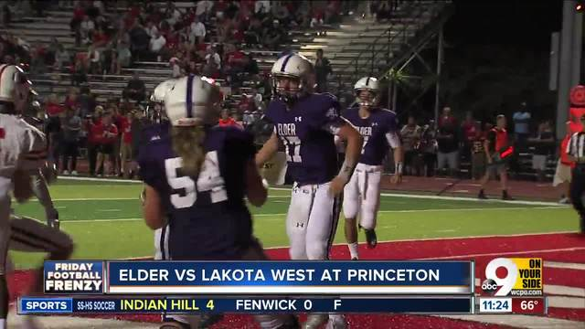 Watch Part 2 of WCPO-s -Friday Football Frenzy- for Aug- 25- 2017