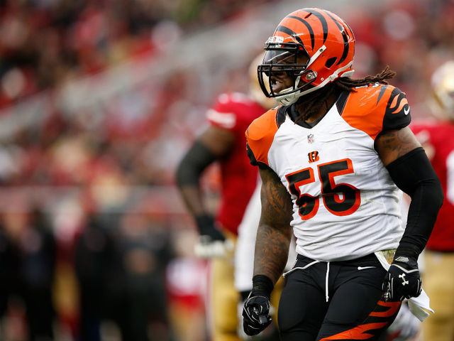 Vontaze Burfict's 5-game suspension reduced to 3 games after appeal