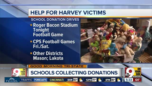 Here are the Cincinnati companies and organizations helping Hurricane Harvey's victims