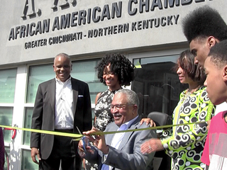African American Chamber honors 1st president
