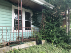 Who owns these decaying houses and weedy lots?