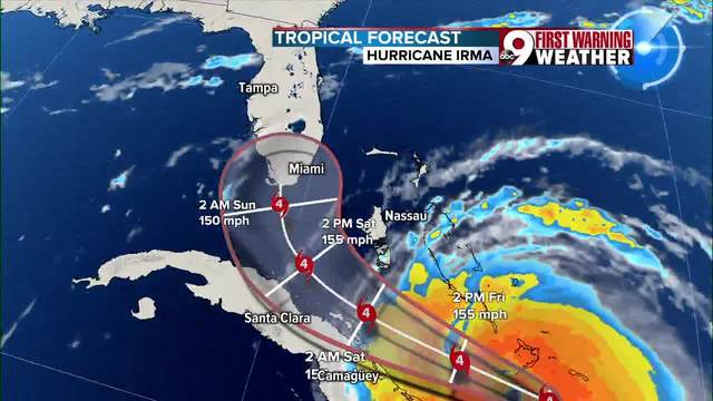 Irma just got downgraded- but don-t let your guard down