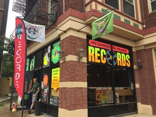 New Oakley record shop has that psychedelic vibe
