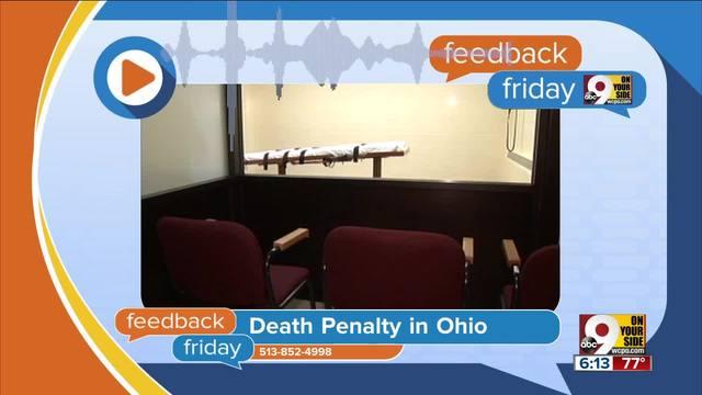 Feedback Friday- Should Ohio abolish the death penalty