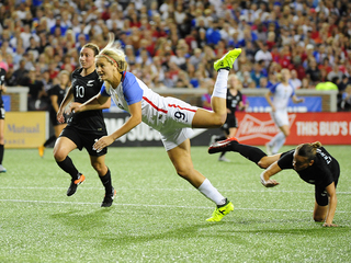 U.S. women's soccer team shuts out New Zealand