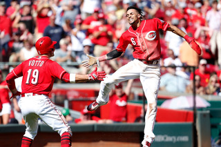 WATCH: Billy Hamilton adds to highlight reel