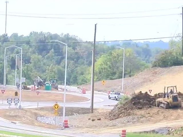 NKU road project behind schedule, on budget