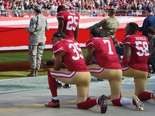 Op-ed: Why I kneel during the anthem