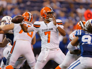 Browns rookie QB is taking his lumps