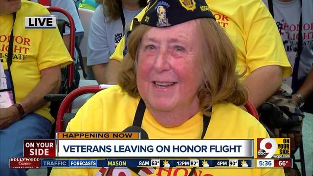 Heartland Honor Flight escorts almost 90 area veterans to Washington DC