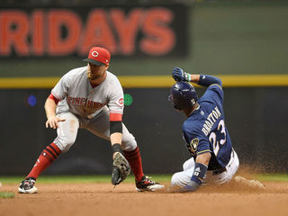 Brewers hold off Reds 7-6