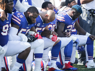 Should NFL players be punished over the anthem?