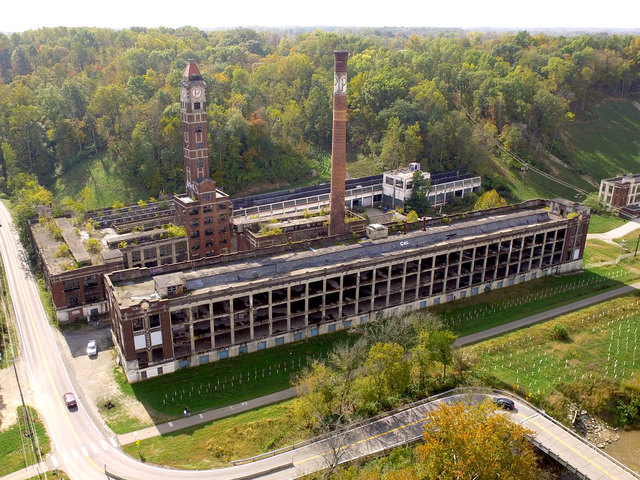 Former ammo factory a hot spot for ghost hunters
