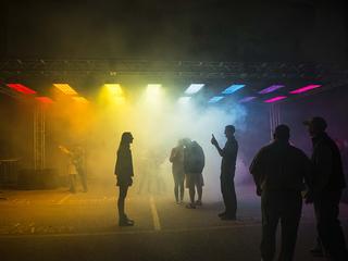 BLINK Backstage Block Party lights up Gano Alley