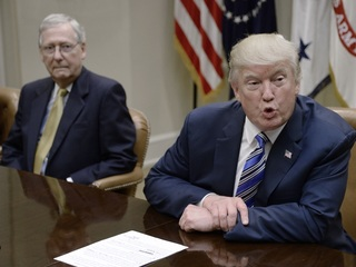 Trump and McConnell set for frosty lunch