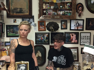 If creepy's your style, oddities shop is for you