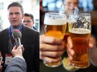 2 Richard Spencer tickets earn you 1 free beer