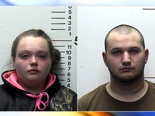 Couple accused of stealing from her grandmother