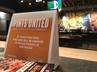 Breweries raise money for United Way
