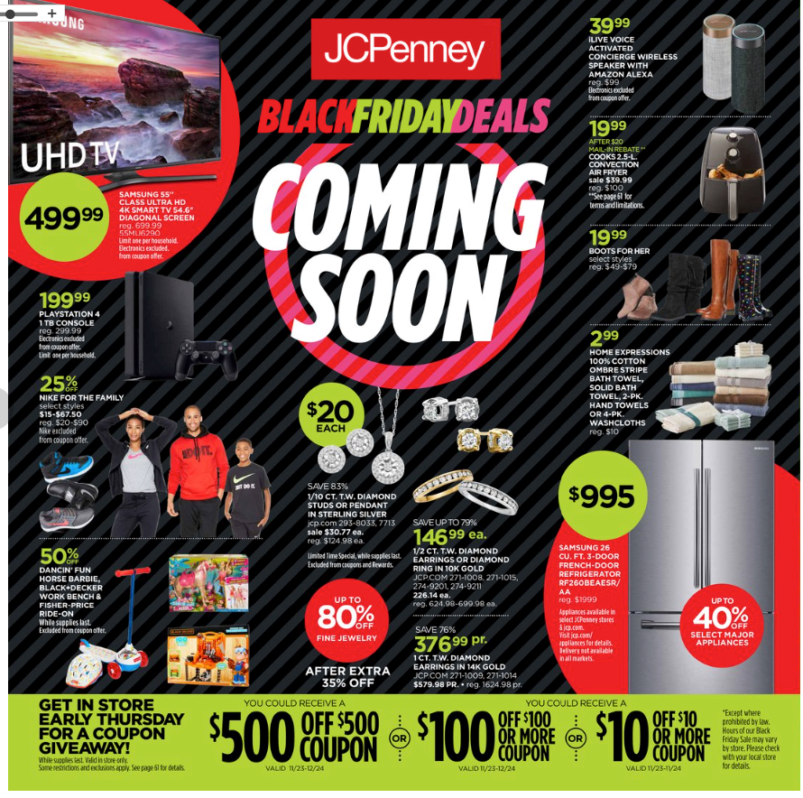 Jcpenney Black Friday Deals Preview