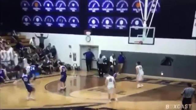 High school students chanted racist insults at basketball game