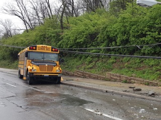 Charges pending as students cope with bus crash
