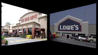 Home Depot and Lowe's: Battling for your dollars