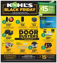 Kohl's Black Friday 2018 online sales begin