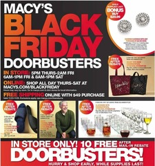 Macy's Black Friday 2018 ad is out