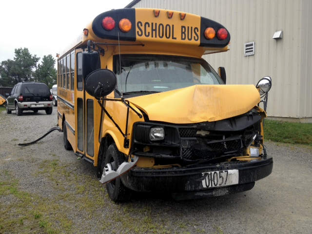 bus hijack Emergency 911 calls and dash cam show children being rescued with help of bus driver.