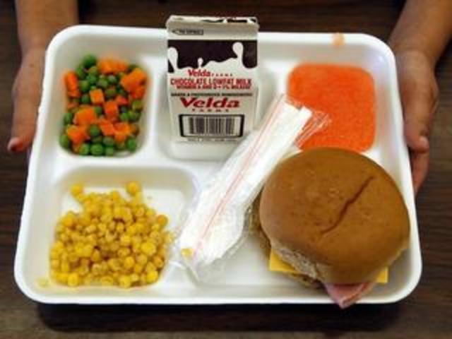 Calories In School Lunch Hot Dog