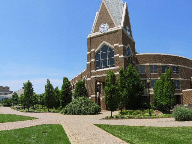 This is an image of the Gallagher student center that is located in the Xavier university