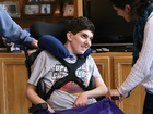 Teen struck by lightning adjusts to 'new normal'