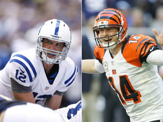 Colts, Bengals QBs try to change legacies