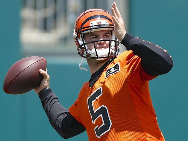 AJ McCarron wins grievance with Bengals, will be free agent