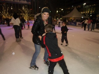 The Fountain Square ice rink opens Oct. 27