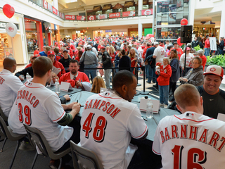 Join Reds Caravan final stop at Florence Mall