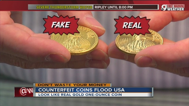Counterfeit Gold And Silver Coins Burning Buyers Wcpo