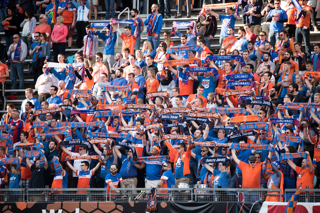 FC Cincinnati's record-breaking attendance figures during its first season  drew attention from sports media across the country and Europe as well.