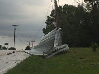 Nws Tornado Touched Down In Clinton County At 3 A M