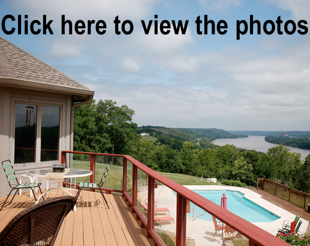 Home Tour California Ky House Perched Above Ohio River Is Like - Amazing house built across a river