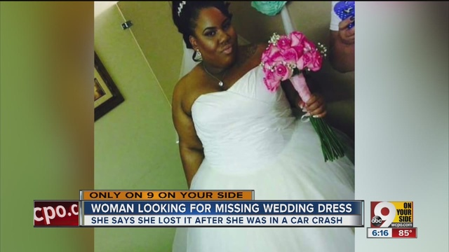 Wedding Dresses Cincinnati | Have You Seen This Wedding Dress Its Owner Wants It Back Wcpo