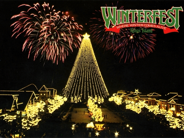 Image result for kings island winterfest