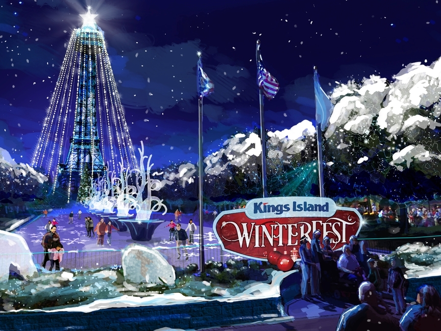 Kings Island to bring back holiday-themed Winterfest - WCPO ...