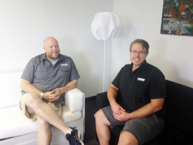 Marvelous West Chester Based Slim Furniture Vice President Woodrow Plunkett, Left,  And President Michael Blair Have Found Success In Recent Months Selling  Their ...