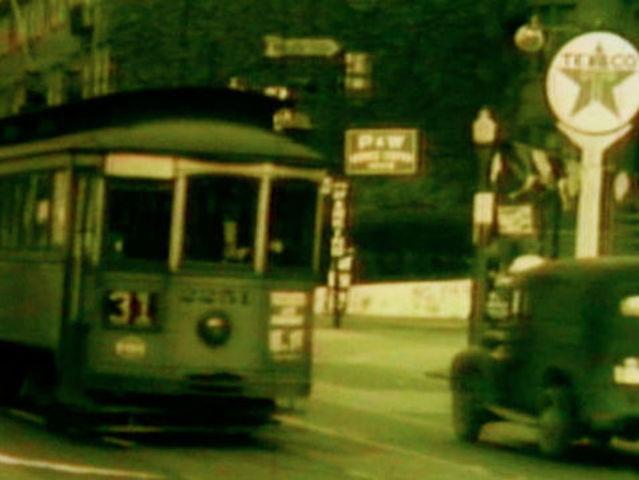 Cincinnati by streetcar, trolley bus