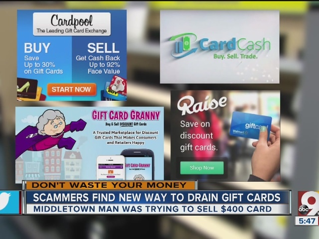 New gift card scam drains card while you listen - WCPO Cincinnati, OH