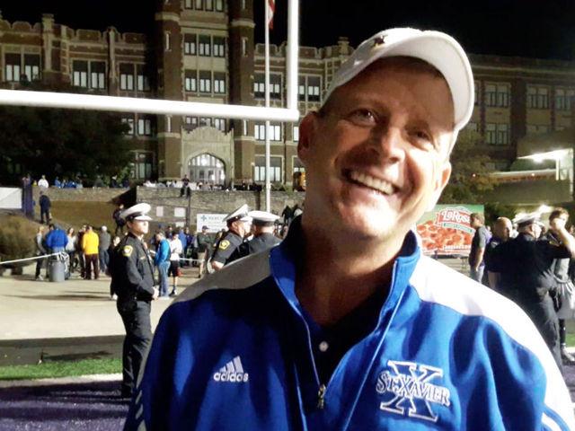 St. Xavier coach Steve Specht talks about beating Elder