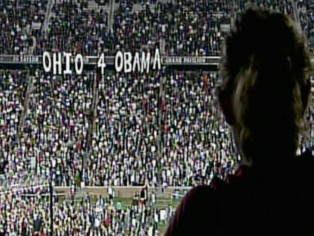 Barack Obama draws 25,000 to rally at University of Cincinnati's Nippert Stadium in 2008